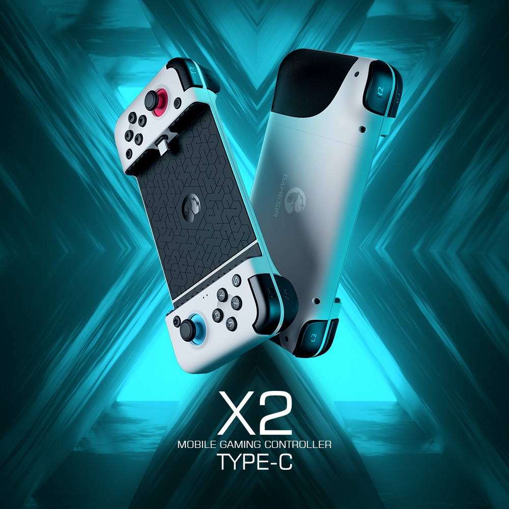 GameSir X2 Type-C Mobile Gamepad Game Controller for Xbox Game Pass, PlayStation Now, STADIA, GeForce Now, Parsec, LiquidSky