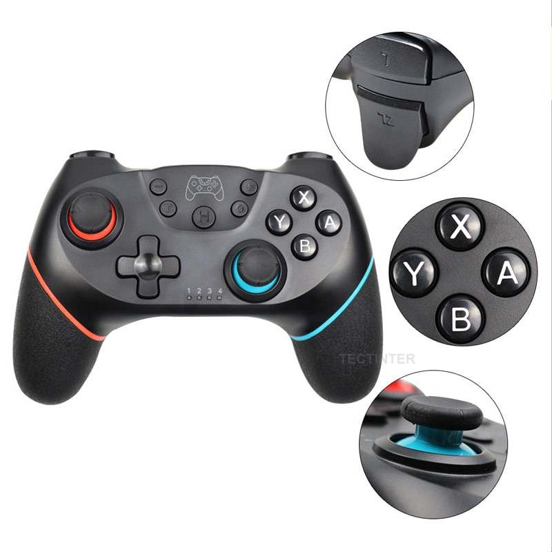 Wireless Bluetooth Gamepad For Nintendo Switch with 6-Axis Handle