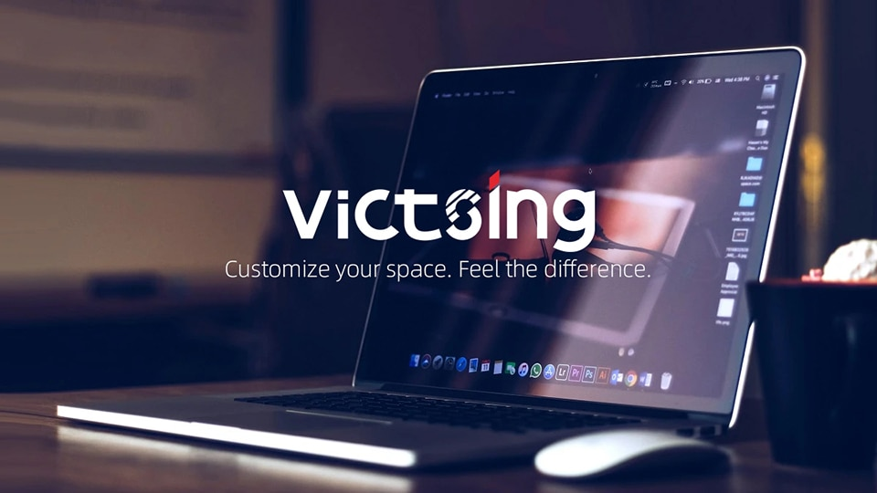 VicTsing Ergonomic Wired Gaming Mouse 8 Buttons 7200DPI USB Computer Mouse
